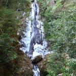 冬の雄滝(笠木)